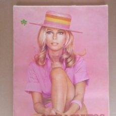 Coleccionismo de Revista Diez Minutos: DIEZ MINUTOS. LOS 100 MEJORES POSTERS. EXTRA 1972. LIBRO POSTER. Lote 269993228