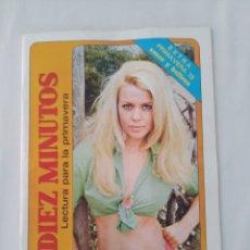 Coleccionismo de Revista Diez Minutos: REVISTA DIEZ MINUTOS EXTRA PRIMAVERA 1972 AMOR Y BELLEZA. Lote 270534663