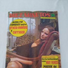 Coleccionismo de Revista Diez Minutos: REVISTA DIEZ MINUTOS NUM.1167, GRACIA MONTES BOXEADORA,MARY FRANCIS. Lote 270537763