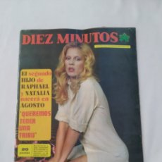 Coleccionismo de Revista Diez Minutos: REVISTA DIEZ MINUTOS NUM.1169,SYLVIE VARTAN, DANIEL VELÁZQUEZ. Lote 270538158
