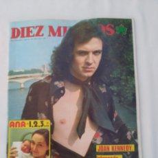 Coleccionismo de Revista Diez Minutos: REVISTA DIEZ MINUTOS NUM.1190,CAMILO SESTO, PILAR VELÁZQUEZ. Lote 270540848
