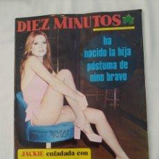 Coleccionismo de Revista Diez Minutos: REVISTA DIEZ MINUTOS NUM.1163, MARJORIE WALLACE MISS MUNDO 63,EVA LEON. Lote 270569993