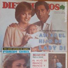 Coleccionismo de Revista Diez Minutos: DIEZ MINUTOS Nº 1616. EL HIJO DE LADY DI. REPORTAJES MARADONA, KIKO LEDGARD, MISS BARCELONA. Lote 274915078