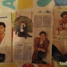 Coleccionismo de Revista Diez Minutos: REPORTAJE ENRIQUE DEL POZO DIEZ MINUTOS AÑOS 80. Lote 277543673