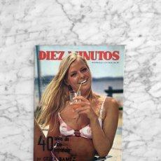Coleccionismo de Revista Diez Minutos: DIEZ MINUTOS - 1970 - ROCIO DURCAL Y JUNIOR, TINA AUMONT, LA CONTRAHECHA, JUAN PARDO, CELIA GAMEZ. Lote 277738068