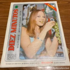 Coleccionismo de Revista Diez Minutos: DIEZ MINUTOS - NUMERO ALMANAQUE 1974 SIN POSTERS. Lote 278588808