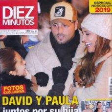 Coleccionismo de Revista Diez Minutos: REVISTA DIEZ MINUTOS NUMERO 3517 DAVID Y PAULA. Lote 280471508