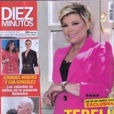 Coleccionismo de Revista Diez Minutos: REVISTA DIEZ MINUTOS NUMERO 3526 TERELU. Lote 280471918