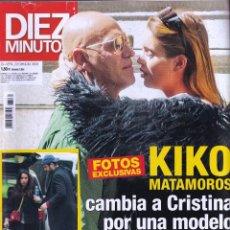 Coleccionismo de Revista Diez Minutos: REVISTA DIEZ MINUTOS NUMERO 3531 KIKO MATAMOROS. Lote 280472223