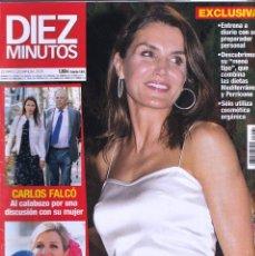 Coleccionismo de Revista Diez Minutos: REVISTA DIEZ MINUTOS NUMERO 3535 LETIZIA. Lote 280472373
