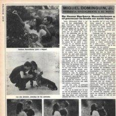 Coleccionismo de Revista Diez Minutos: MIGUEL BOSÉ: ENTREVISTA Y REPORTAJE GRÁFICO. AÑOS 70. Lote 282907483