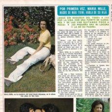Coleccionismo de Revista Diez Minutos: ENTREVISTA Y REPORTAJE GRÁFICO CON LA MADRE DE MARI TRINI. AÑOS 70. Lote 282908973