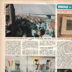 Coleccionismo de Revista Diez Minutos: RAPHAEL: REPORTAJE GRÁFICO. AÑOS 70. Lote 282909108