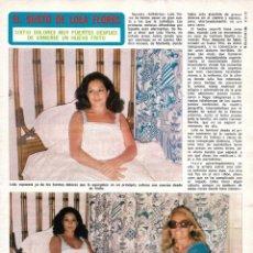 Coleccionismo de Revista Diez Minutos: LOLA FLORES: REPORTAJE GRÁFICO. AÑOS 70. Lote 282984408
