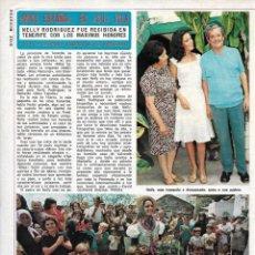 Coleccionismo de Revista Diez Minutos: NELLY RODRÍGUEZ, MISS ESPAÑA. REPORTAJE GRÁFICO. AÑOS 70. Lote 283006098