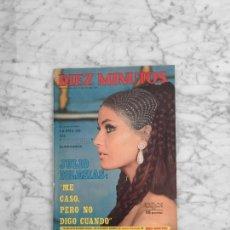 Collectionnisme de Magazine Diez Minutos: DIEZ MINUTOS - 1971 MARISA MELL, JULIO IGLESIAS, KARINA, MARI TRINI, MARIA DOLORES PRADERA, RAPHAEL. Lote 283799083
