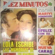 Coleccionismo de Revista Diez Minutos: DIEZ MINUTOS. 1984. Lote 284514028