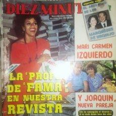 Coleccionismo de Revista Diez Minutos: DIEZ MINUTOS. 1983.. Lote 284514173