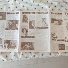 Collectionnisme de Magazine Diez Minutos: SUSANA ESTRADA FOTOS DESPLEGABLE DIEZ MINUTOS 1977 BIOGRAFÍA TOP SECRET 20. Lote 287096358