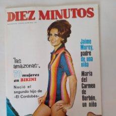 """Coleccionismo de Revista Diez Minutos: REVISTA DIEZ MINUTOS NUM.1110,""""LAS AMAZONAS"""" EN ALMERÍA, ROBERT MITCHUM,CIRA. Lote 287904743"""