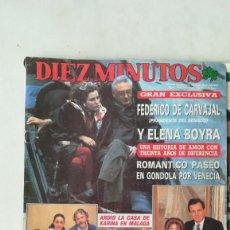 Coleccionismo de Revista Diez Minutos: DIEZ MINUTOS SABRINA SALERNO, NAOMI UN DOS TRES, PAT ONDIVIELA MISS ESPAÑA 80.VER SUMARIO. Lote 287924458