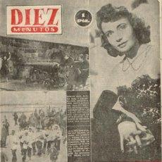 Coleccionismo de Revista Diez Minutos: DIEZ MINUTOS Nº 109 - 1953 - EL ASESINO DE TROTSKY LIBRE - RITA HAYWORTH. Lote 288231633
