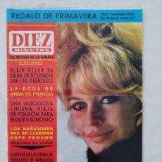 "Coleccionismo de Revista Diez Minutos: REVISTA DIEZ MINUTOS NUM.716,FERIA DE PRIMAVERA, ANUNCIO VESPA,""MISS MADRID""1965. Lote 288313493"
