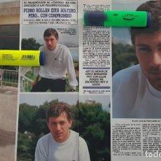 Coleccionismo de Revista Diez Minutos: REPORTAJE DE PEDRO ROLLAN 21.06.88. Lote 288383533