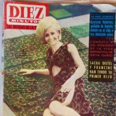 Coleccionismo de Revista Diez Minutos: DIEZ MINUTOS.NOVIEMBRE 1964.Nº 689.EVELYNE VALENTINO.GRETA GARBO.SACHA DISTEL.. Lote 288430568