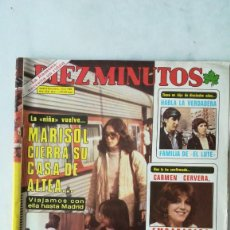 Coleccionismo de Revista Diez Minutos: DIEZ MINUTOS MARISOL, CARMEN CERVERA, POSTER GIGANTE NORMA DUVAL. 1980. Lote 288501098
