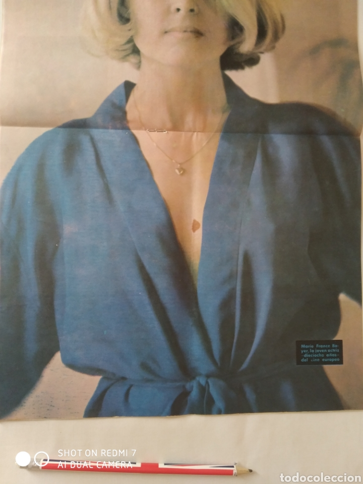 Coleccionismo de Revista Diez Minutos: Revista Diez minutos num.715, feria de primavera, Marlon Brando, Anthony Quinn - Foto 2 - 288514958
