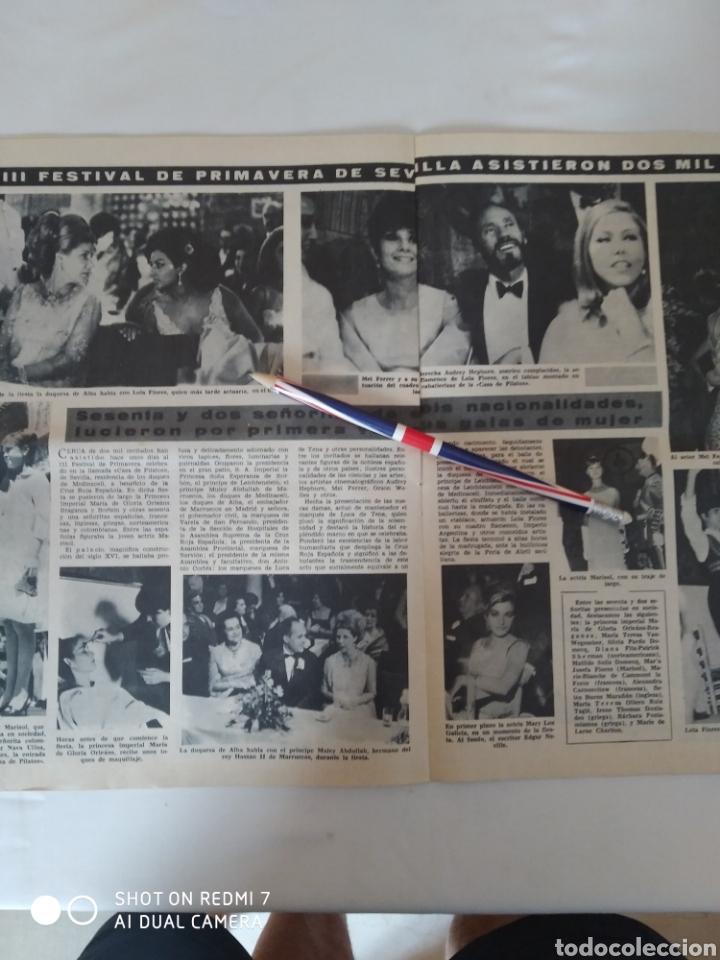 Coleccionismo de Revista Diez Minutos: Revista Diez minutos num.715, feria de primavera, Marlon Brando, Anthony Quinn - Foto 5 - 288514958