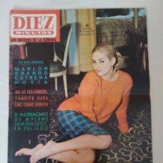 Coleccionismo de Revista Diez Minutos: REVISTA DIEZ MINUTOS NUM.715, FERIA DE PRIMAVERA, MARLON BRANDO, ANTHONY QUINN. Lote 288514958