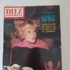 """Coleccionismo de Revista Diez Minutos: REVISTA DIEZ MINUTOS NUM.718,GINA LOLLOBRIGIDA, MARILYN MONROE,""""EL CORDOBES"""". Lote 288516953"""