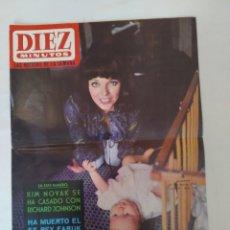 Coleccionismo de Revista Diez Minutos: REVISTA DIEZ MINUTOS NUM.709,JOAN COLLINS,JAIME OSTOS,RUSOS POR EL ESPACIO. Lote 288528838