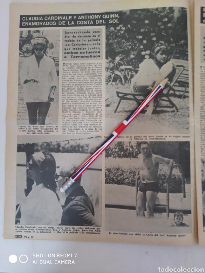 Coleccionismo de Revista Diez Minutos: Revista Diez minutos num.722, Salvador Dalí, Anthony Quinn en Costa del Sol, Juanita Reina - Foto 3 - 288529903