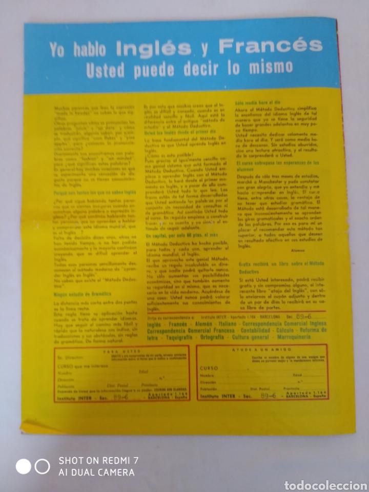 Coleccionismo de Revista Diez Minutos: Revista Diez minutos num.722, Salvador Dalí, Anthony Quinn en Costa del Sol, Juanita Reina - Foto 6 - 288529903