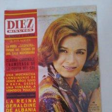 Coleccionismo de Revista Diez Minutos: REVISTA DIEZ MINUTOS NUM.722, DALÍ EN PARIS, ANTHONY QUINN EN COSTA DEL SOL, JUANITA REINA. Lote 288529903