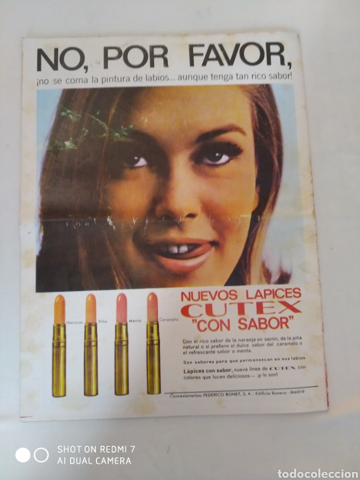 "Coleccionismo de Revista Diez Minutos: Revista Diez minutos num.719,""Miss España 65"",La Chunga, Marisol baile flamenco - Foto 4 - 288531058"