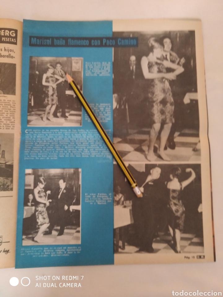 "Coleccionismo de Revista Diez Minutos: Revista Diez minutos num.719,""Miss España 65"",La Chunga, Marisol baile flamenco - Foto 5 - 288531058"