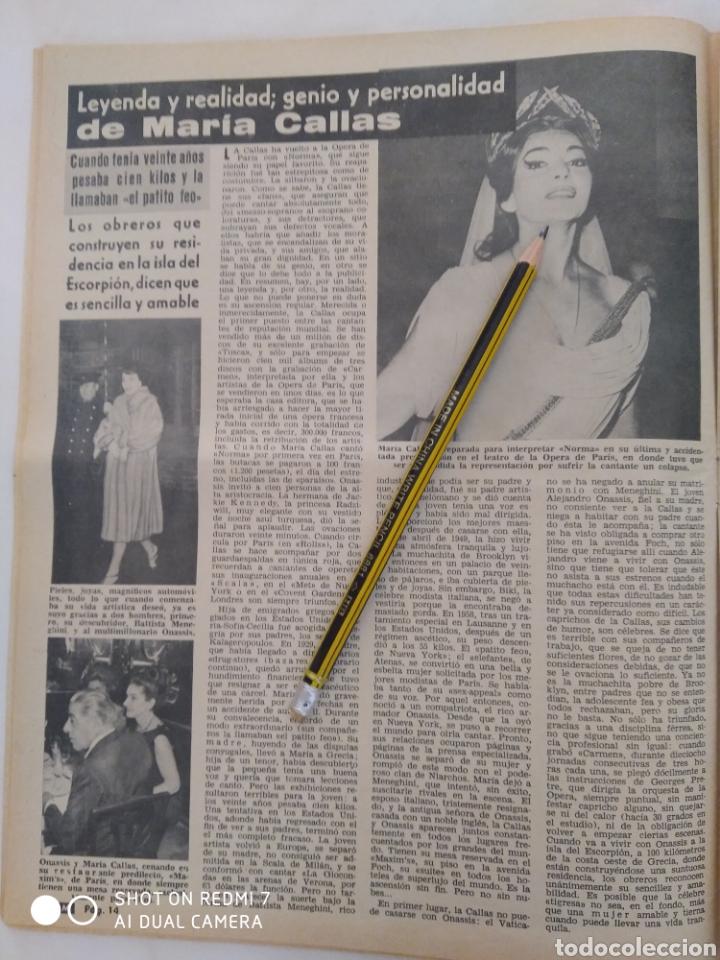 Coleccionismo de Revista Diez Minutos: Revista Diez minutos num.723, Rocío Dúrcal,Helenio Herrera,James Bond - Foto 2 - 288533743