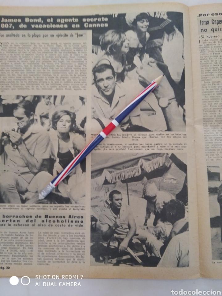 Coleccionismo de Revista Diez Minutos: Revista Diez minutos num.723, Rocío Dúrcal,Helenio Herrera,James Bond - Foto 4 - 288533743