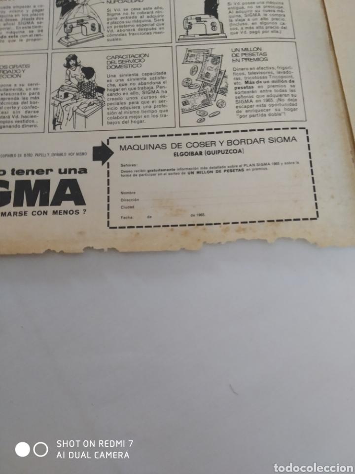 Coleccionismo de Revista Diez Minutos: Revista Diez minutos num.723, Rocío Dúrcal,Helenio Herrera,James Bond - Foto 7 - 288533743