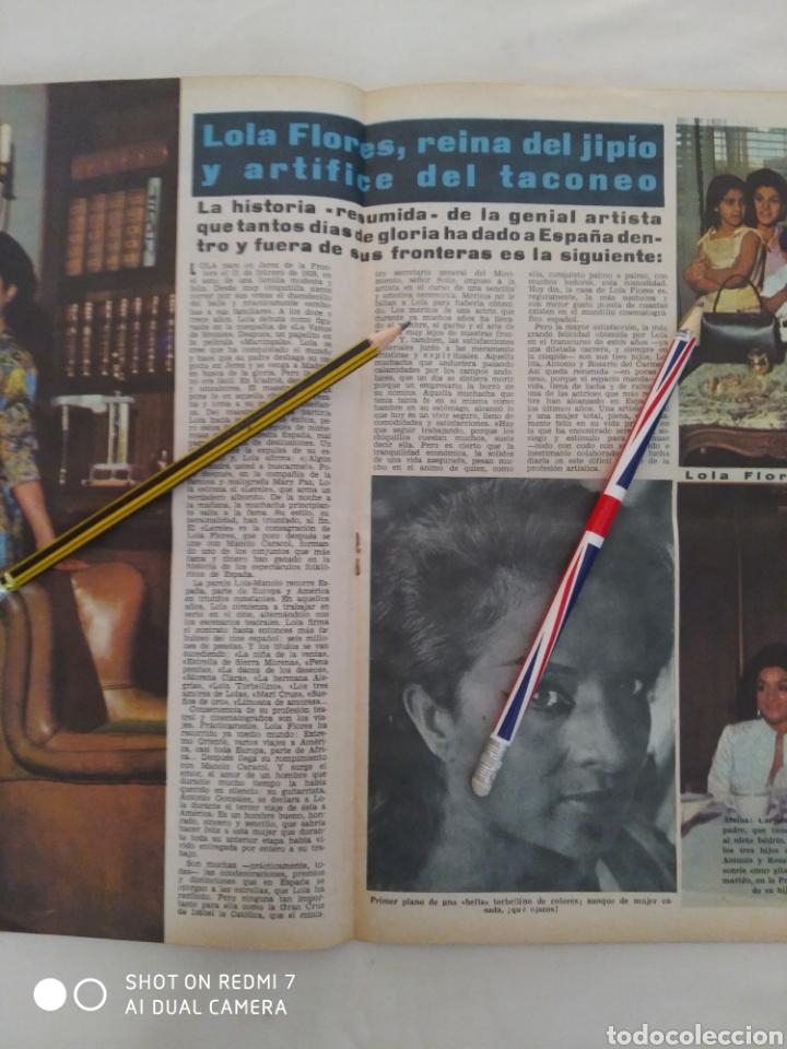 Coleccionismo de Revista Diez Minutos: Revista Diez minutos num.726,John Lennon, Lola Flores, Antonio Ordóñez - Foto 3 - 288535538