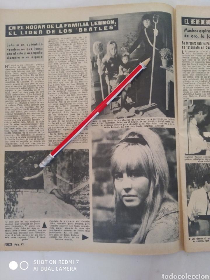 Coleccionismo de Revista Diez Minutos: Revista Diez minutos num.726,John Lennon, Lola Flores, Antonio Ordóñez - Foto 4 - 288535538