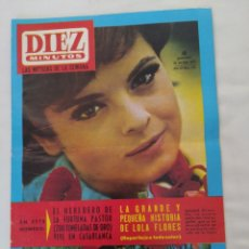 Coleccionismo de Revista Diez Minutos: REVISTA DIEZ MINUTOS NUM.726,JOHN LENNON, LOLA FLORES, ANTONIO ORDÓÑEZ. Lote 288535538