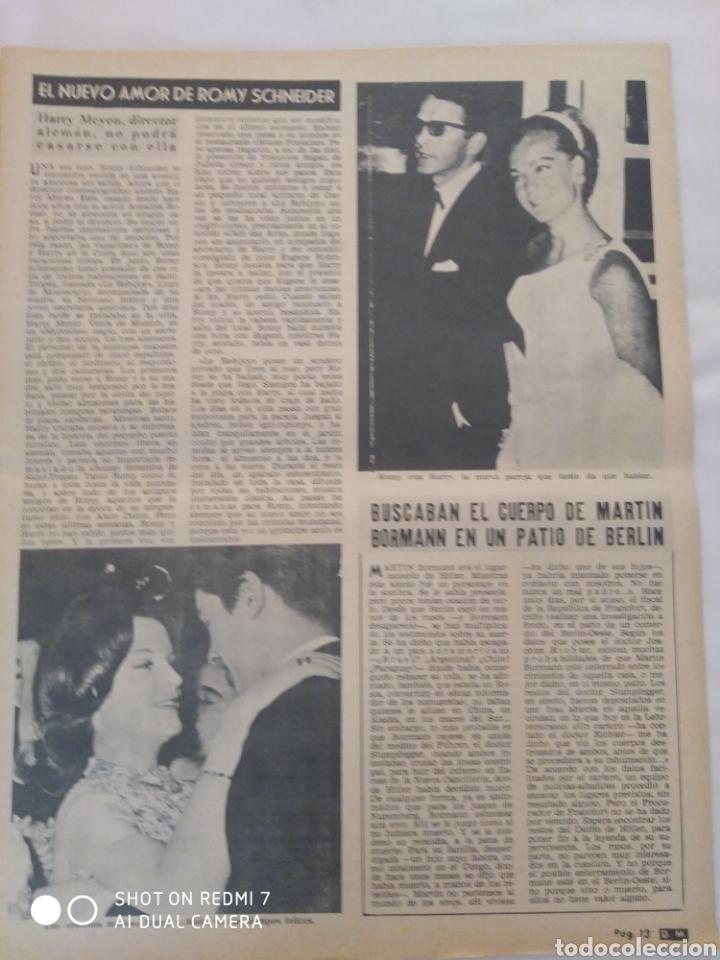 Coleccionismo de Revista Diez Minutos: Revista Diez minutos num.729, Conchita Velasco,Marco Antonio,Soledad Miranda - Foto 3 - 288537463