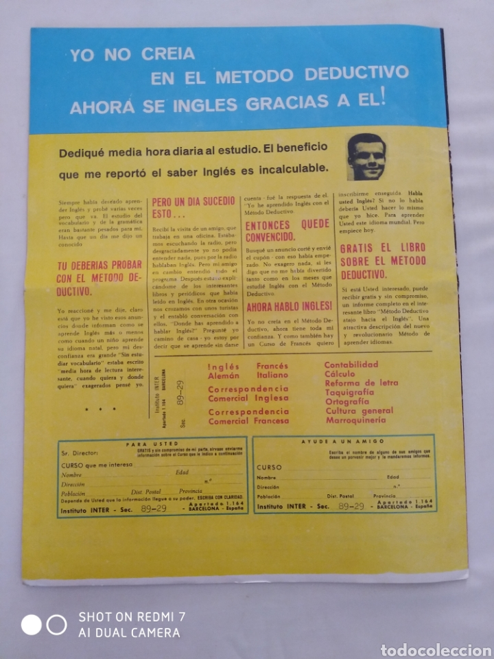 Coleccionismo de Revista Diez Minutos: Revista Diez minutos num.729, Conchita Velasco,Marco Antonio,Soledad Miranda - Foto 7 - 288537463