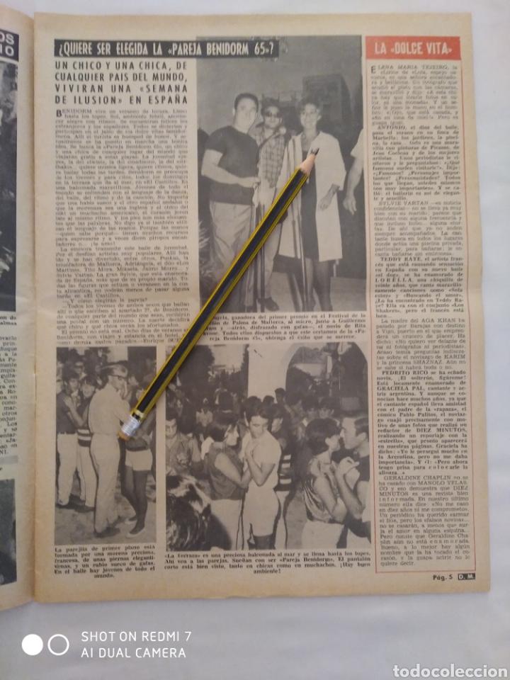 Coleccionismo de Revista Diez Minutos: Revista Diez minutos num.730, Ursula Andress, Rita Pavone,hablan las extraterrestres - Foto 2 - 288538988