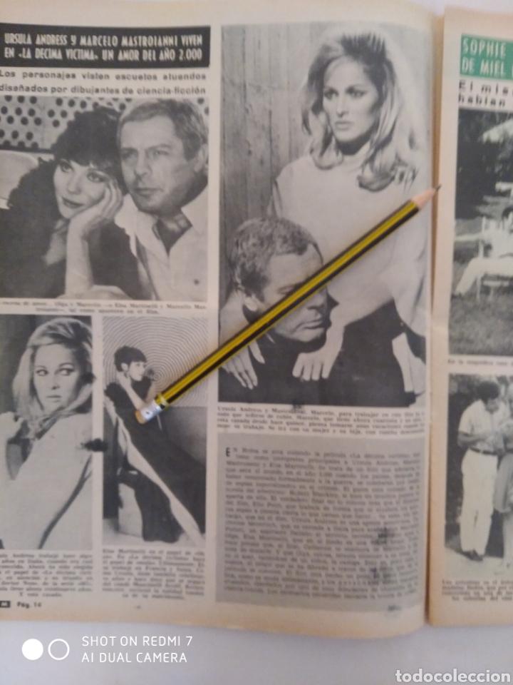 Coleccionismo de Revista Diez Minutos: Revista Diez minutos num.730, Ursula Andress, Rita Pavone,hablan las extraterrestres - Foto 3 - 288538988